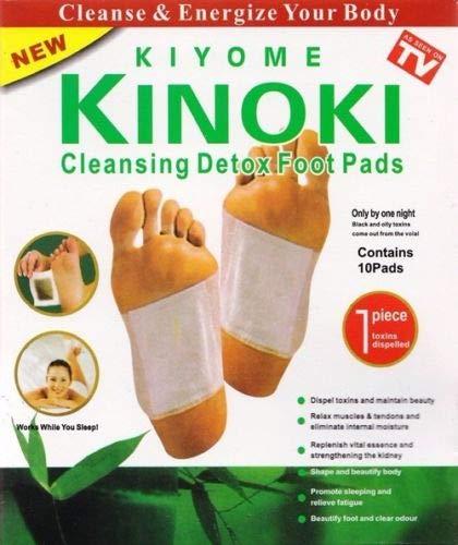 20 Stück (2 x10) Kinoki Pflaster Pads Fusspflaster Wellness