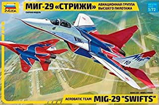 Zvezda 1/72 Zvezda No.7310 Russian Aerobatic Demonstrator Mikoyan MiG-29 Swifts ver.