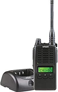 Oricom UHF5500-1 5 watt Handheld UHF CB Radio, Black