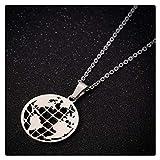 YUNGYE Necklaces Pendant Chain, Teacher Student Graduation Gift Delicate Stainless Steel Fibonacci Ratio Necklaces Collier (Color : 45cm, Size : 2S)