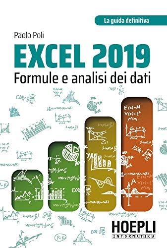 Excel 2019. Formule e analisi dei dati