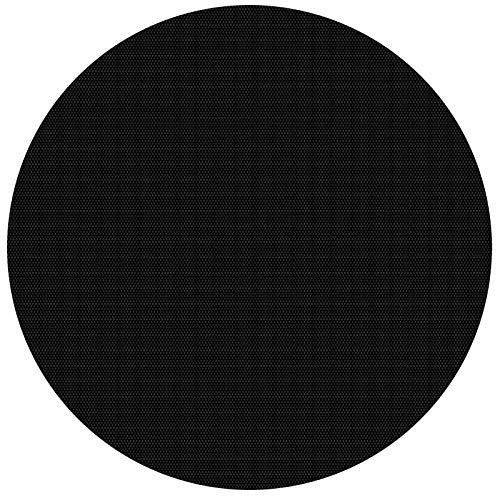 Wiltec Pool Solarfolie 3.6m Rund schwarz Poolabdeckung Solarplane Poolheizung