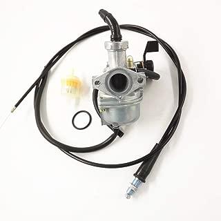labwork 48mm Carburetor & Throttle Cable for Honda CRF70 XR70 CRF70F XR70R Carb