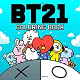 BT21 Coloring Book: 방탄소년단 Bangtan Boys Coloring Books for KPOP & Army Fans