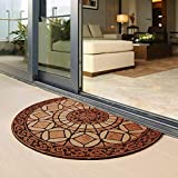 Eanpet Decorative Doormat Outdoor Rubber Mat for Front Door Entrance Mat Indoor 2x3