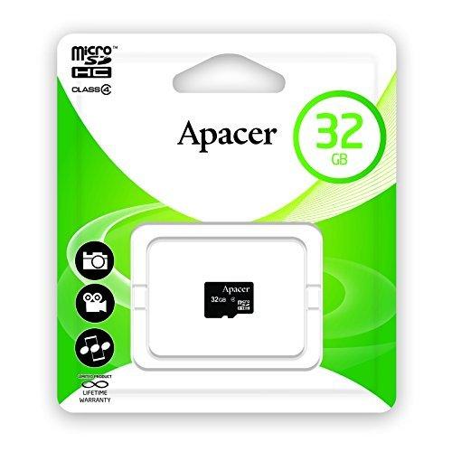 Preisvergleich Produktbild Apacer microSDHC Class4 32 GB 32 GB microSDHC Class 4 Speicher Flash Memoiren Flash (32 GB,  microSDHC,  Klasse 4)