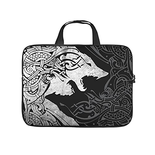 Standard Viking Wolf Laptop Bags Unique Multifunctional Viking Tablet Cases Suitable for Business Trips