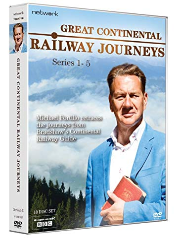 Great Continental Railways Journeys: Series 1 - 5 [DVD] [UK Import]