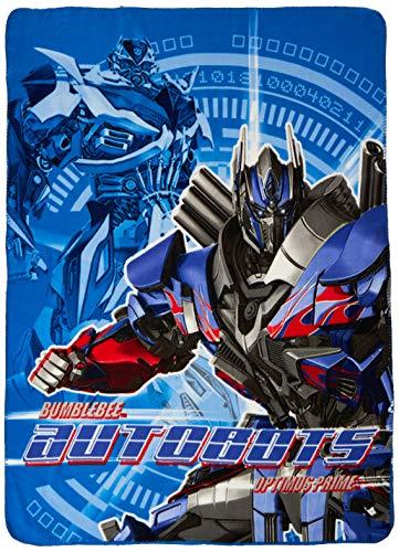 Hasbro's Transformers 4, 'Turn Up' Fleece Throw Blanket, 40' x 50', Multi Color