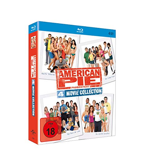 American Pie - 4 Movie Collection (DigiPak) [Blu-ray]