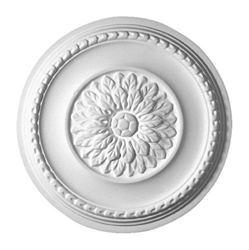 HOMESTAR Stuckrosette / Deckenrosette Rosa, Durchmesser 37 cm, 25210