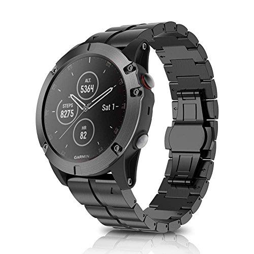 Yimixz - Correa de repuesto para reloj inteligente Garmin Fenix 5X Plus
