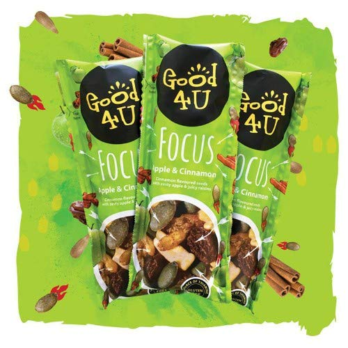 "Good4U Super Seed Shot ""Focus"" 30g Apfel-Zimt Samenmischung, 30 g"