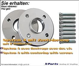 Élargisseurs de voie 5 mm LK 4x100mm NLB 54,1 mm
