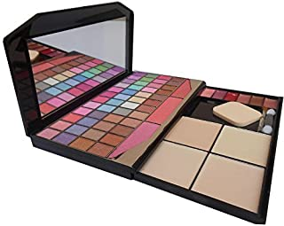 TYA Laptop Fashion Makeup Kit with 48 Colour Eye Shadow, Compact and Blusher, Etc -590