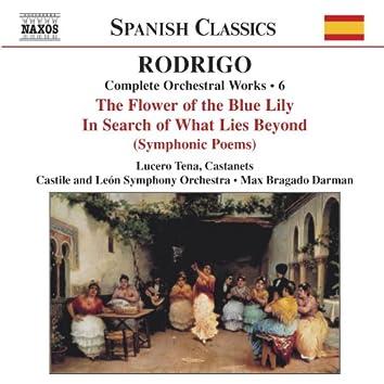 Rodrigo: Per La Flor Del Lliri Blau / A La Busca Del Mas Alla (Complete Orchestral Works, Vol. 6)