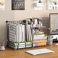 Aeitc Desktop Bookshelf Desk Storage Organizer Display Shelf Rack