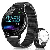 NAIXUES Smartwatch, Reloj Inteligente IP67 Pulsera Actividad Inteligente con Pulsómetro, Monitor de...