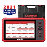 LAUNCH Scanner CRP909X Scan Tool with 15 Reset Function All Systems Diagnostic Tool,IMMO,ABS Bleeding,SAS,EPB,TPMS,Oil Reset OBD2 Scanner 7.0 Touchscreen 7.1 Android Auto VIN WiFi One-Click Update