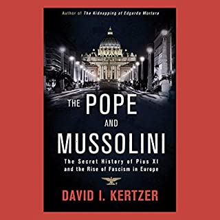 The Pope and Mussolini audiobook cover art