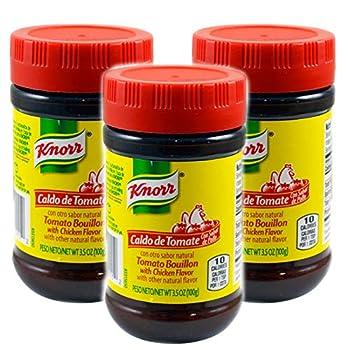 Knorr Bouillon Tomato Grand Chicken broth 3.5oz  3 Pack