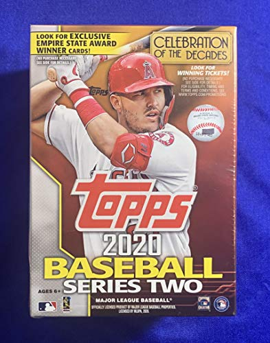 Factory-Sealed 2020 Topps Baseball Series Two 99-Card Value Blaster Box - MLB Trading Cards
