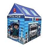 VENTDOUCE Kinderzelt Spielhaus Große Polizei Spielhaus Zelte Faltbares Pop-Up Spielzelt Ungiftig...
