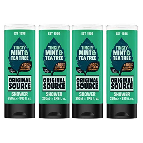 Originele Source Douchegel Set 4 x 250 ml Tingly Mint & Tea Tree