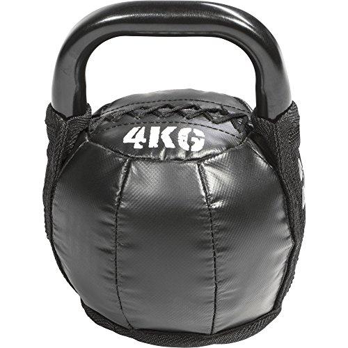 GORILLA SPORTS® Kettlebell Leder 4 kg