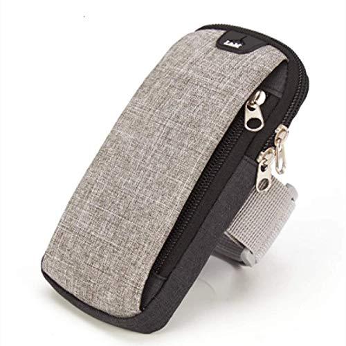 Armtasche 6ZollLaufsack mit HeadsetLöchern, zum Joggen, Turnhallen, Waffen, Handy, Unterstützungstasche, Sport, Fitness, OutdoorTaschen