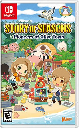 Story of Seasons: Pioneers of Olive Town - Nintendo Switch