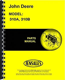 John Deere 310A 310B Tractor Loader Backhoe Parts Manual (JD-P-PC1930)