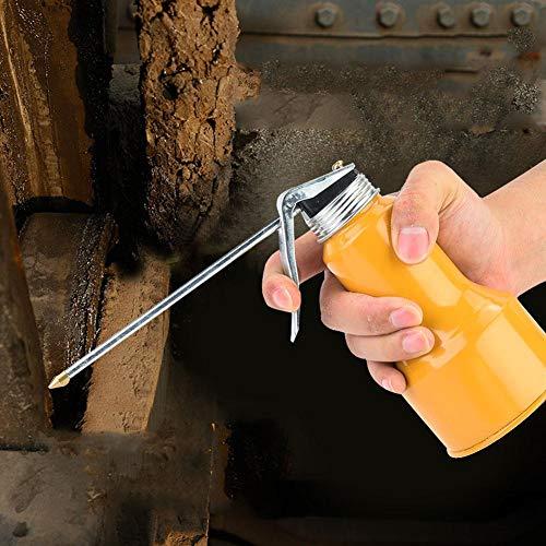 Pistola para bidones de aceite amarilla, engrasador de alta presión, aleación de aluminio resistente al desgaste para tractores de vehículos(400g)