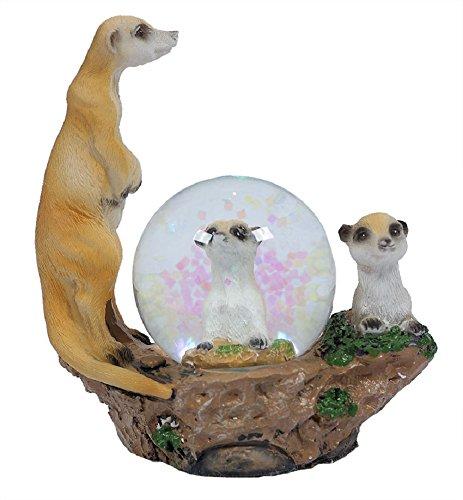 PIA International Glitzerkugel Erdmännchen Schneekugel Tier Tiere Schneekugeln