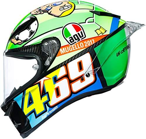 AGV Pista GP R Mugello 2017 Valentino Rossi Limited Edition Casco XL (61/62)