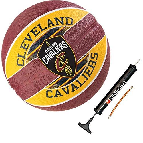 Spalding Basketball Team Ball Teamball Cavaliers Größe 7 + Ballpumpe