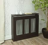 TOP KIT | Cubre radiador Cristian 3091 | Medidas exterior 90 x 83,5 x 18,5 cm | Medidas interior 84,5 x 81 x 15 cm | Wengué