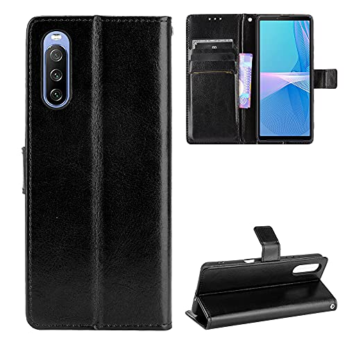 Price comparison product image Hülle® Wallet Flip Case Compatible for Sony Xperia 10 III(Pattern 1)