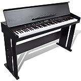 vidaXL Pianoforte Digitale con 88 Tasti e Leggio Strumento Musicale Tastiera