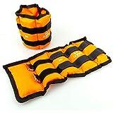 C.P. Sports 2er Set Gewichtsmanschetten für Hand- und Fußgelenke, 2X 0,5kg – 2X 1kg - 2X 1,5kg - 2X 2kg - 2X 2,5kg - 2X 3kg-2x 4kg-2x 5kg-2x 6kg -...