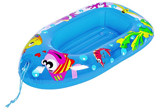 Small World Toys Active Edge - Sea Life Child`s Boat Inflatable Child Boat