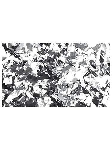 Confettis Metal Argent Rectangle