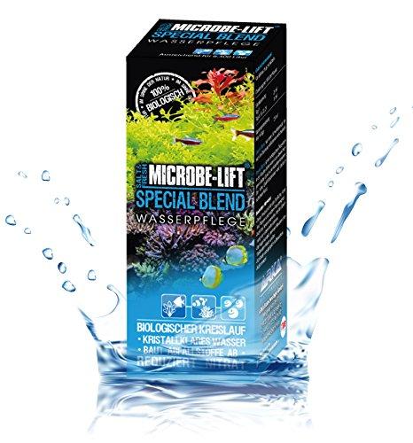 MICROBE-LIFT Special Blend – hochaktive Bakterien, für naturnahes Aquarium, fördert Abbau von Verunreinigungen, Süß- und Meerwasser, 251ml