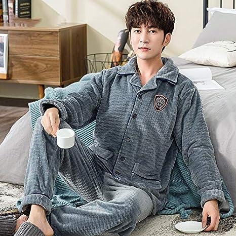 Home+Love+L Pijama de Invierno Cálido Invierno Pijama de ...