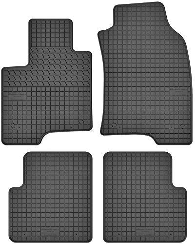 Motohobby Jeu de tapis de sol en caoutchouc pour Fiat Panda III (à partir de 2012) – Ajustement parfait.