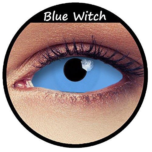 Blaue Sclera Kontaktlinsen 22mm Linsen blue full Sclera contacts Modell: