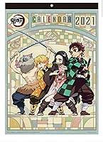 鬼滅の刃 カレンダー 2021 B3サイズ アニメ グッズ