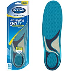 Designed for people with foot discomfort and foot and leg fatigue Made with Massaging Gel Technology, they double the comfort in your shoes, for those with foot discomfort, so you can feel comfortable and more energized all day Helps reduce muscle fa...