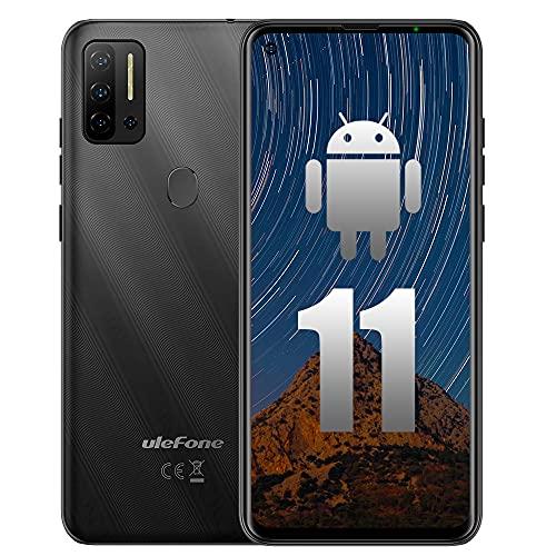 "Unlocked Smartphone Ulefone Note 11P Android 11 P60 Octa-core 8GB+ 128GB Cell Phone Unlocked, 48MP Five Camera 6.55"" HD+ Fullview Display 4400mAh Battery Global Dual SIM 4G LTE Unlocked Phones"