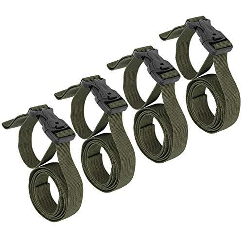 SALUTUYA Accesorios para Exteriores Cinturón de Embalaje de Equipaje Durable para Almohadillas a Prueba de Humedad para Almacenamiento de Maletas